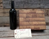 Wine Barrel Cutting Board 0559 - Made from reclaimed California wine tanks - 100% Recycled and Free Shipping (US Only)!