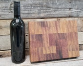 Wine Barrel Cutting Board 0556 - Made from reclaimed California wine tanks - 100% Recycled and Free Shipping (US Only)!