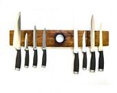 ORGANIZATION Collection - Ganivet - Wine Barrel Magnetic Knife Rack / 100% Recycled