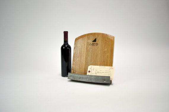 Sale Wine Barrel Cookbook Stand Tablet Holder Made From Etsy
