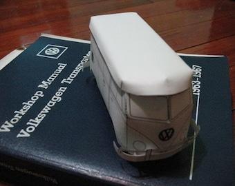 Paper Splittie Bus Model Kit (Panel Van) Instant Download