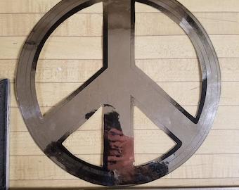 Peace Emblem Bus Sticker