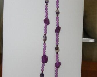 passionate purple necklace