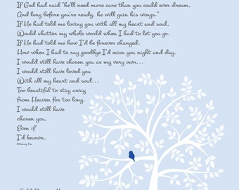 Miscarriage Memorial Print-Loss of Unborn Baby-In Loving