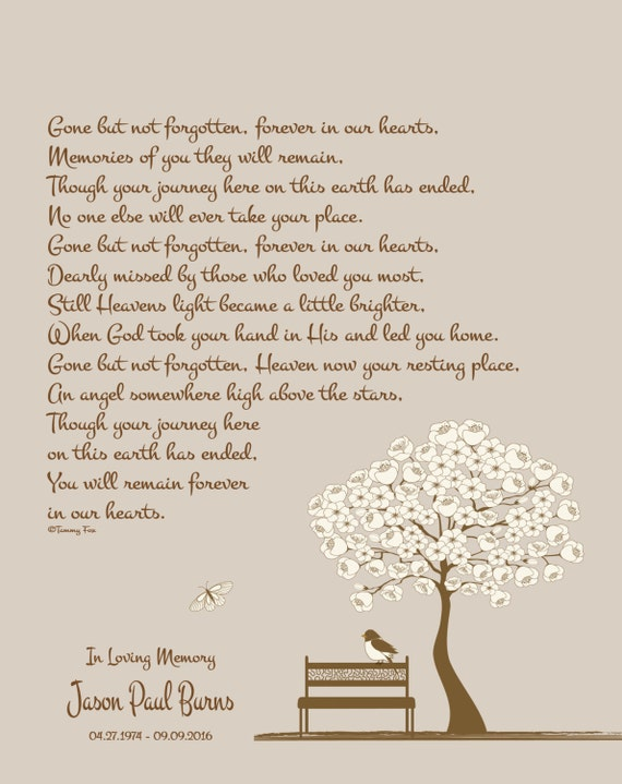 Sympathy GiftMemorial PrintLoss of Family MemberLoss of Etsy Inspiration Loss Of A Family Member Poem