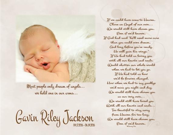 Baby Memorial Memory Box Baby perte mort-né fille ou garçon Personnalisé Custom