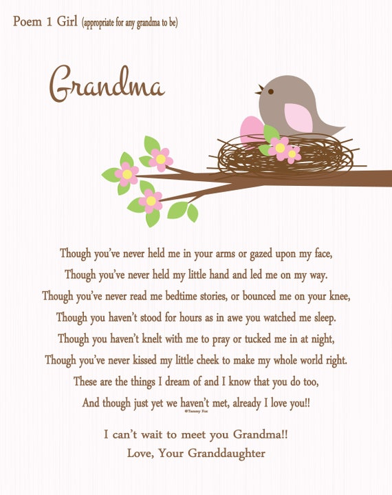 Expectant Grandmother Gift Grandma To Be First Time
