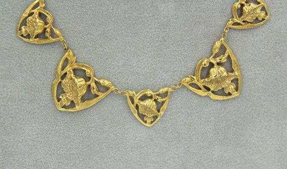 18k Art Nouveau Necklace