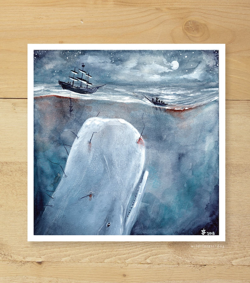 Moby Dick stor lese
