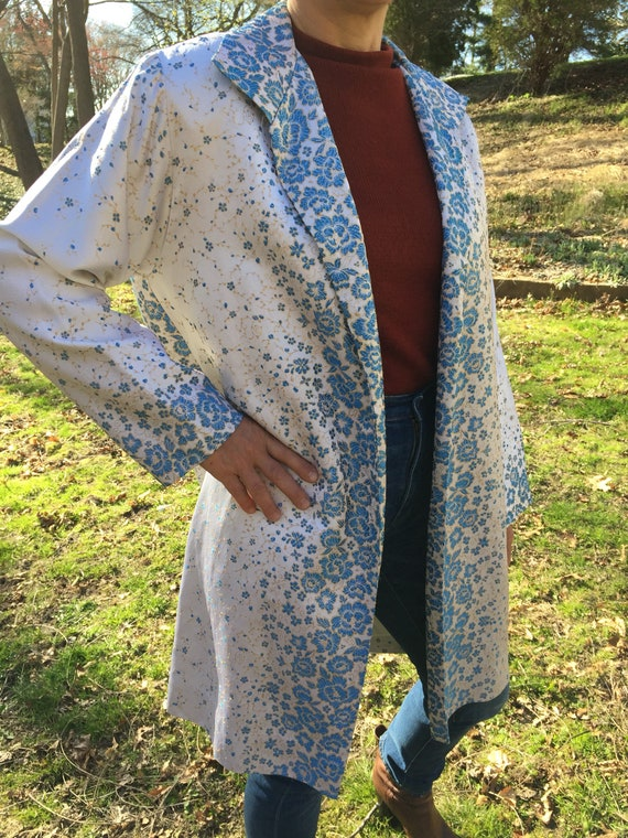 50's Brocade Swing Jacket