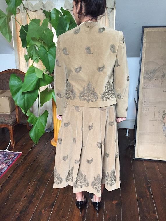 Bill Atkinson 70's Velveteen Suit