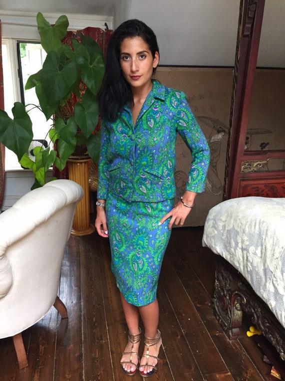 70's Mod Paisley Suit