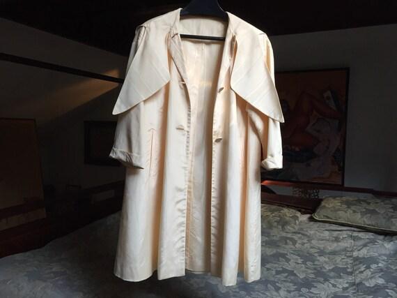 Vintage Blush Moire Raincoat