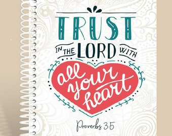 All Your Heart Prayer Journal / Personalized Journal