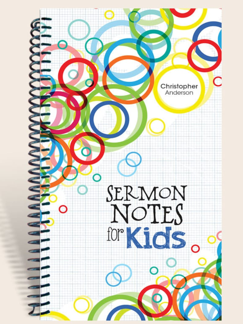 Sermon Notes for Kids / Worship Notes for Kids / image 0