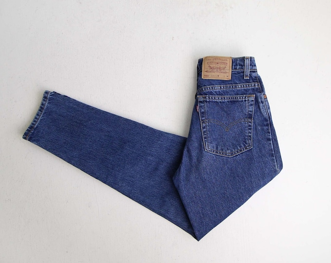 Vintage Levis 550 Jeans Womens 29 Blue Denim Made in USA