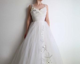1950s wedding dress | Etsy