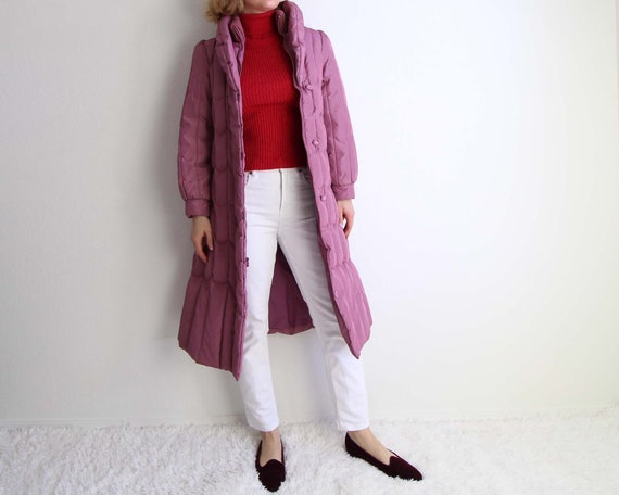 Vintage 1980s Puffy Coat Womens Extra Small Down P