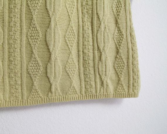 Vintage Sweater Dress Womens Small 1960s Mod Wool… - image 10
