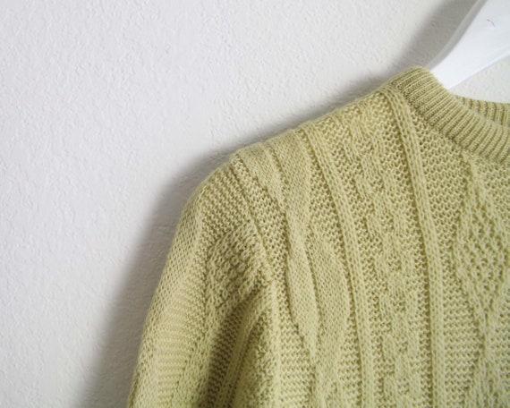 Vintage Sweater Dress Womens Small 1960s Mod Wool… - image 8
