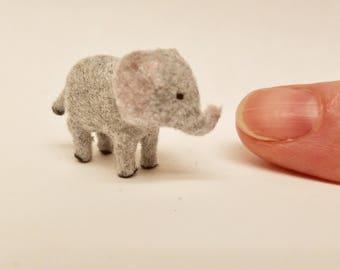 Tiny Elephant for the Dollhouse