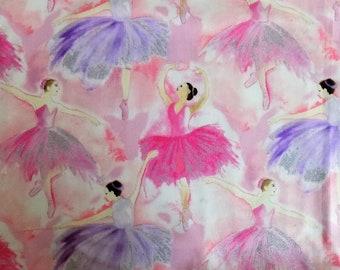 Ballet Iron on Applique//Embroidered Patch Ballerina//Prima Donna White Dress