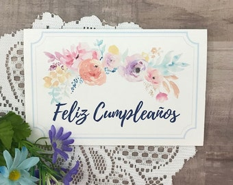 Printable Birthday Card For Mom In Spanish Feliz Cumpleanos