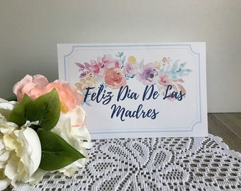 Printable Mothers Day Card In Spanish