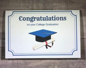 College Graduation Printable Card