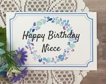 Printable Birthday Card For Niece