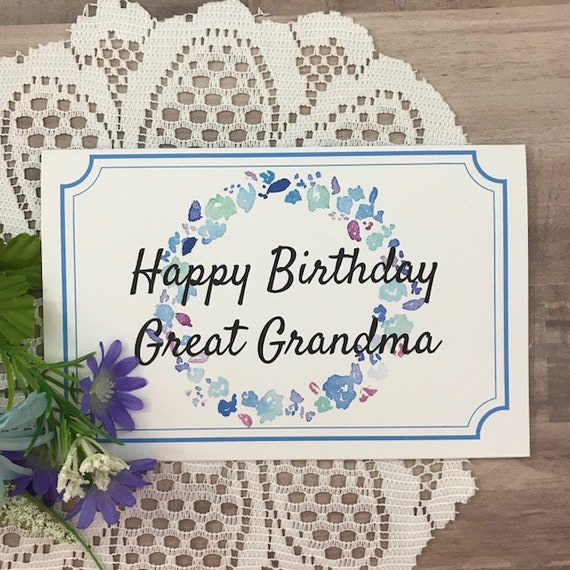 It is a graphic of Printable Birthday Cards for Grandma pertaining to handmade