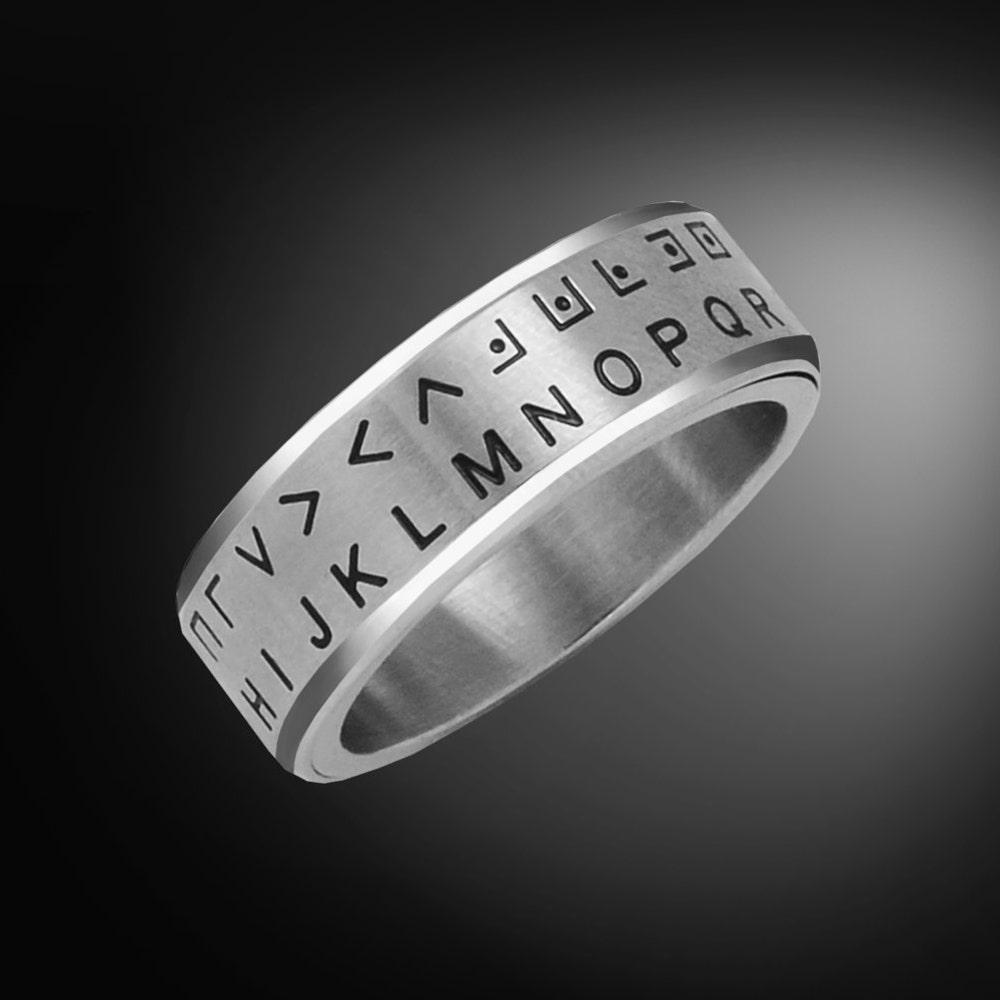 Secret Decoder Ring  Pig Pen Cipher image 0