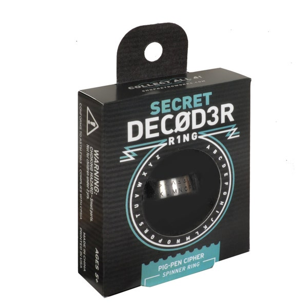 Secret Decoder Ring  Pig Pen Cipher image 2