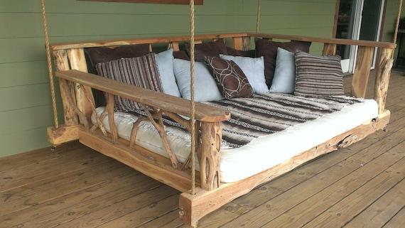 Porch Swing Bed Full Etsy