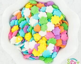 Sweet Sprinkles - Flower Quins Shapes - 4oz Bag
