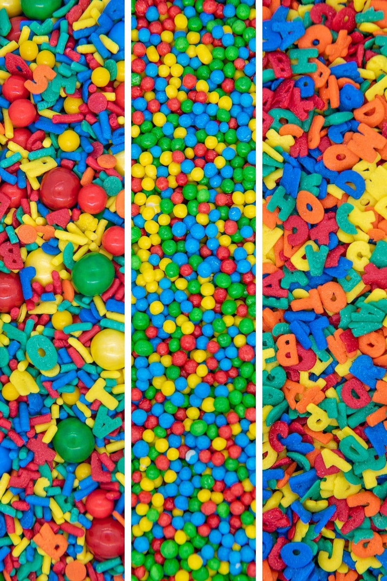 School Sprinkles Set  Back To School Sprinkle Collection image 0