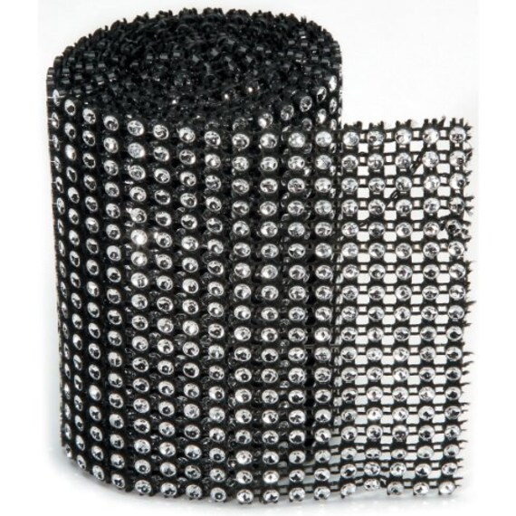 3mm x 3 Yards Silver Bling on a Roll Darice 4 Row
