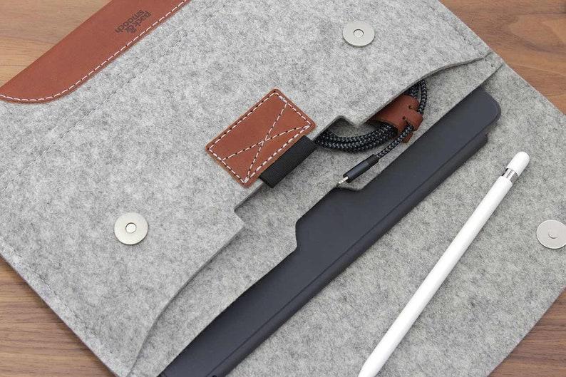 iPad Pro 10.5 inch / iPad Air Case Cover Sleeve 100% Wool image 0