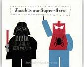 Darth Vader & Spiderman.....