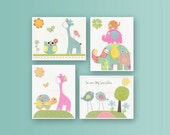 Girl Nursery prints Baby ...