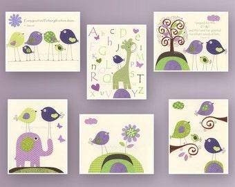 Violet Nursery Etsy