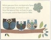 Nursery art for Owl nurse...