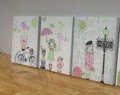 Nursery art, Baby room de...