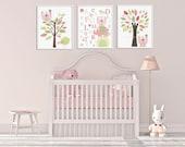 Nursery decor Baby Girl R...