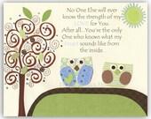 Owl Nursery Wall Art For ...