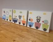 Baby Nursery Art, Set of ...