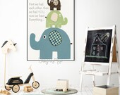 Nursery decor, Baby boy n...