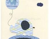 Baby boy, Nursery wall De...
