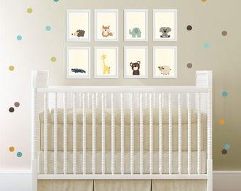 Baby Nursery Art Nursery Art Decor Close Up Portraits Baby