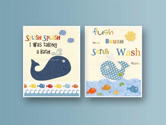 Bathroom Print For Kids Nursery Wall Art Bathroom Decor